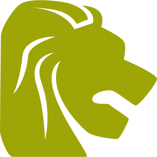 leo-zodiac-symbol-of-lion-head-from-side-view